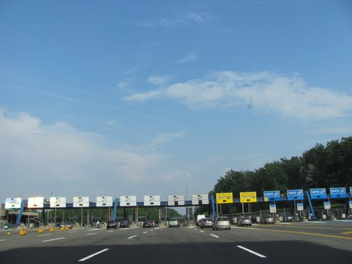 Toll Booths on an Italian Autostrada