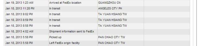 Fedex Taiwan