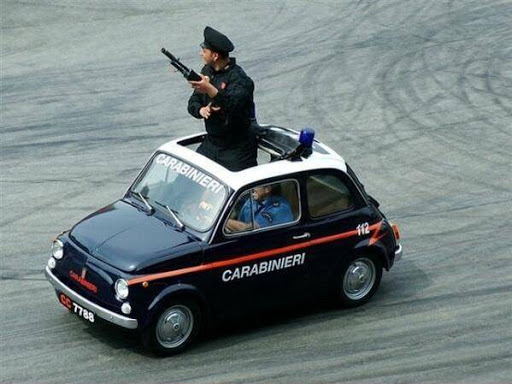 The outstanding Carabinieri