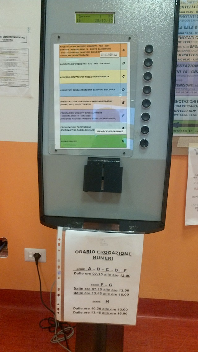 The wonderful ticket machine