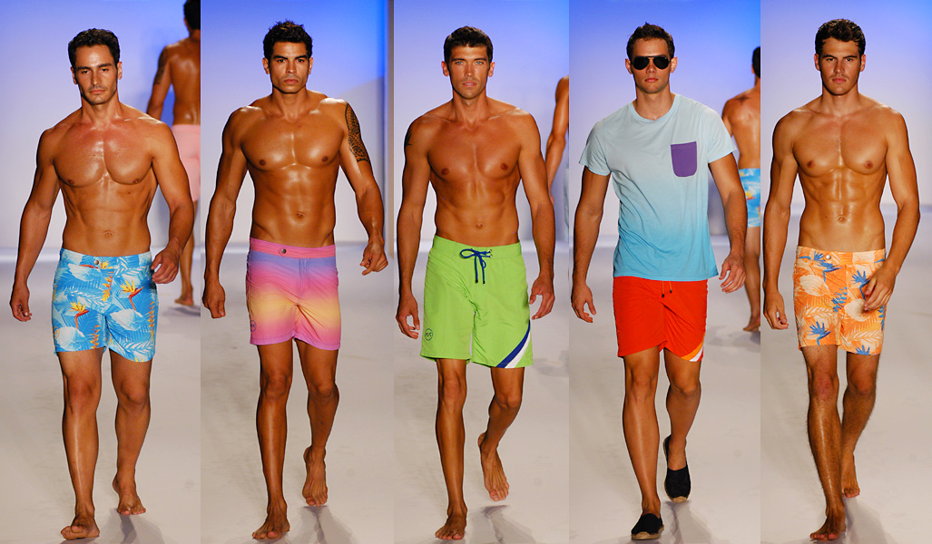 Hunky men with six packs, for the female bloggers