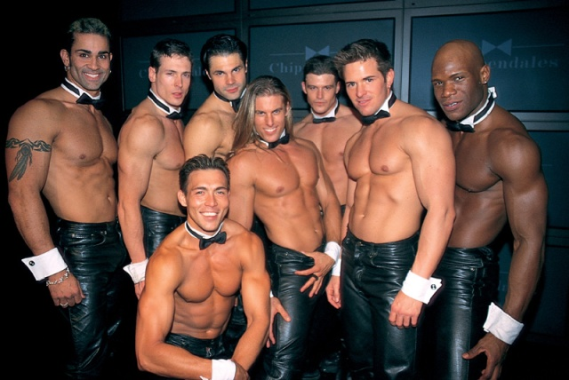 If I upload a pic of Dita van whatever her name is I thought it only fair to upload the chippendales