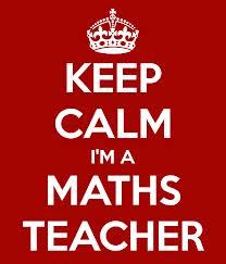 Keep calm Mrs Sensible is a maths teacher....