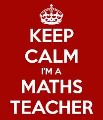 Keep calm Mrs Sensible is a maths teacher....