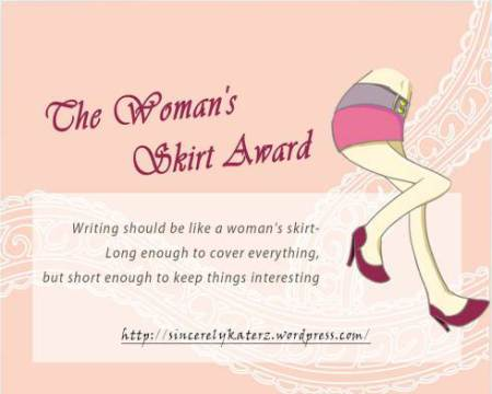 Woman's Skirt Award