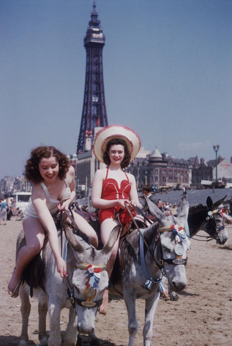 Blackpool donkeys, I don't think I know these young ladies