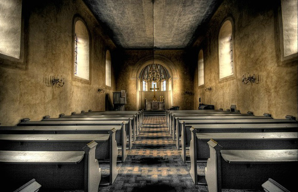 I have been known to empty churches with my singing
