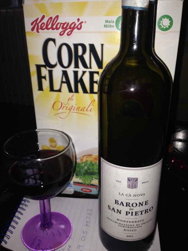 Corn Flakes and Wine Diet