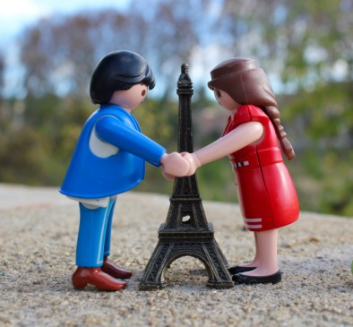 Bleu, France, Rouge. Mr and Mrs Playmo were very emotional.