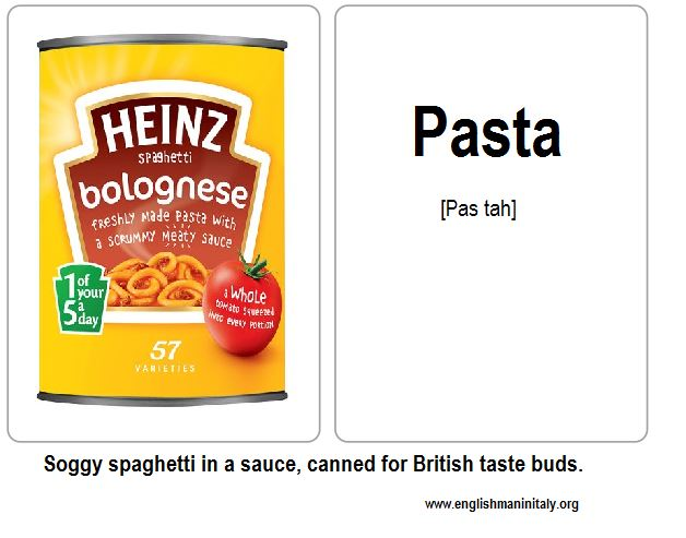 Another Italian language flash card for your collection