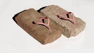 Brick Flip Flops